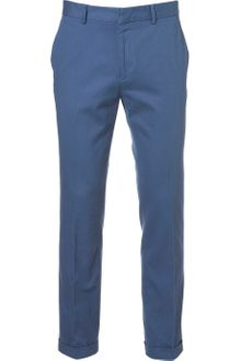 Topman Federal Blue Skinny Trousers - Lyst