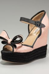Valentino Couture Bow Wedge - Lyst