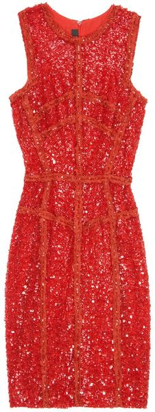 Eastland Sequin and Lace Dress - Lyst