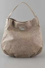 Marc By Marc Jacobs Dotty Snake Hillier Hobo - Lyst