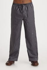 Paul Smith Striped Pajama Pants in Black for Men - Lyst