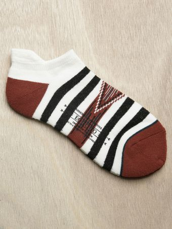 Sasquatchfabrix Eototo Mens Native Pattern Ankle Socks - Lyst