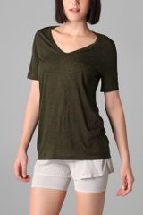 T By Alexander Wang Classic Tee with Pocket - Lyst