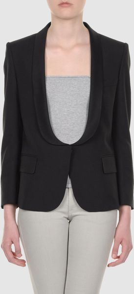 Balmain Blazers in Black - Lyst