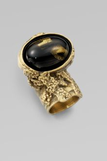 Yves Saint Laurent Arty Ovale Ring - Lyst