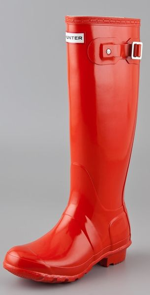 Hunter Original Gloss Rain Boots - Lyst