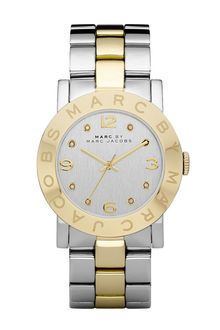 Marc By Marc Jacobs Amy Crystal Bracelet Watch - Lyst