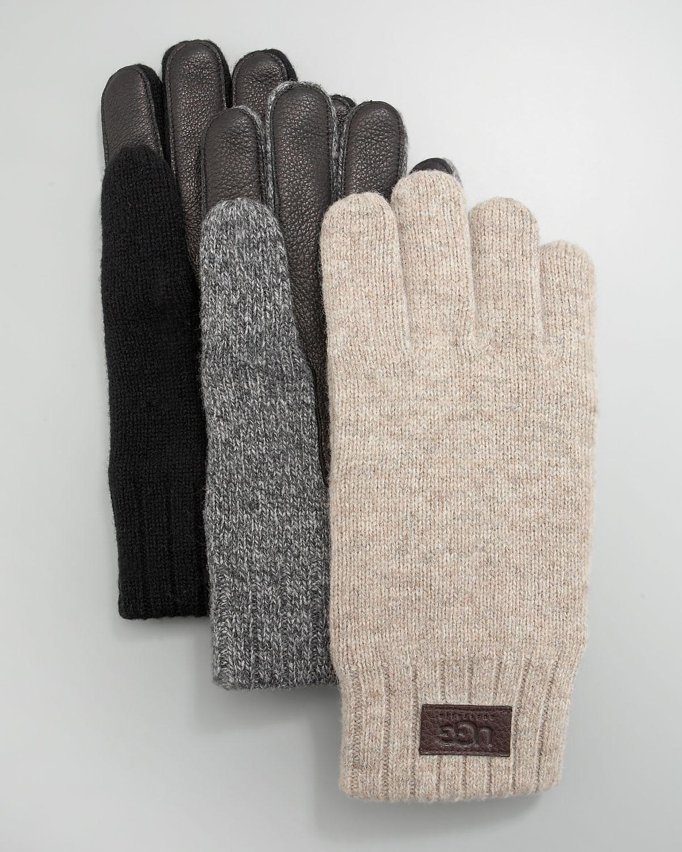 ugg knitted gloves