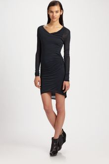 Helmut Lang Slack Jersey Dress - Lyst