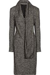 Jil Sander Geometric Beaded Woven Dress - Lyst