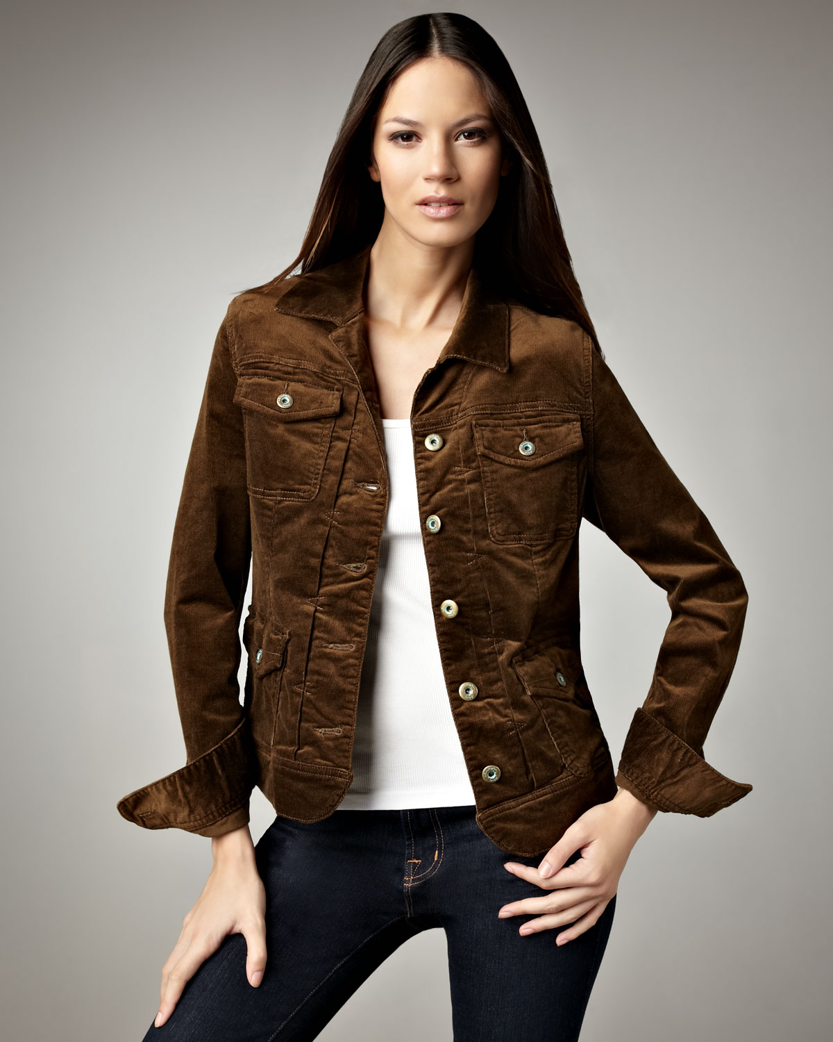 Corduroy jackets women