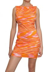 Missoni Printed Lycra Dress - Lyst