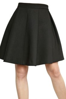 Proenza Schouler Flared Double Faced Wool Sponge Skirt - Lyst