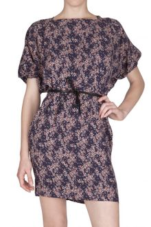 See By Chloé Printed Viscose Cady Dress - Lyst