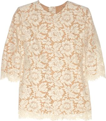 Stella McCartney Lace Top - Lyst