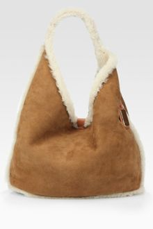 Ugg Shearling Hobo Bag - Lyst