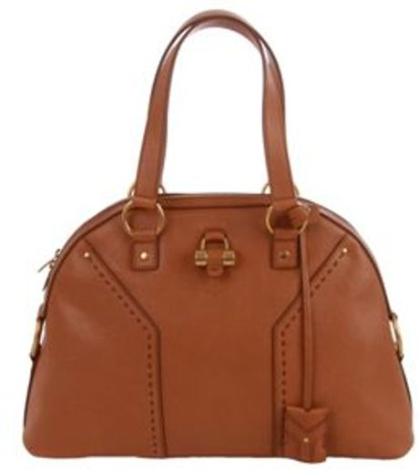 Yves Saint Laurent Handbag in Brown - Lyst