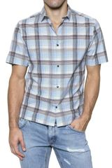 Dolce & Gabbana Checked Cotton Poplin Shirt - Lyst