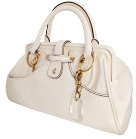 Donna Karan New York Modern Leo Doctors Bag in White