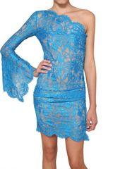 Emilio Pucci Viscose Lace Dress - Lyst