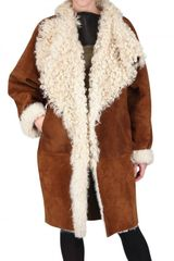 Fendi Reversible Sheepskin Fur Coat - Lyst
