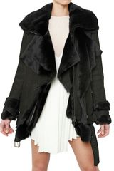 Hakaan Shearling Fur Coat - Lyst