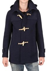 Harnold Brook Boiled Wool Duffle Coat - Lyst