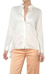 Kai Aakmann Cotton Voile and Poplin Shirt - Lyst