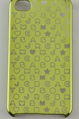 Marc By Marc Jacobs Metallic Stardust Logo Iphone Cover