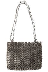 Paco Rabanne Iconic Metal Shoulder Bag - Lyst