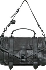 Proenza Schouler Ps1 Medium Calfskin Satchel - Lyst