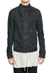 Rick Owens Washed Denim Sport Jacket - Lyst