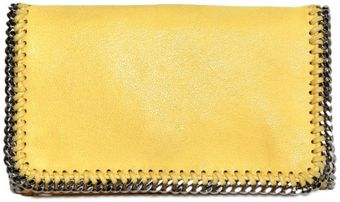 Stella McCartney Shaggy Eco Deer Falabella Small Clutch - Lyst