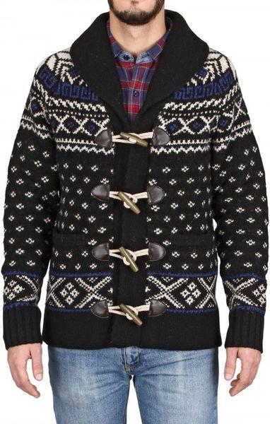 Shawl Sweater Mens