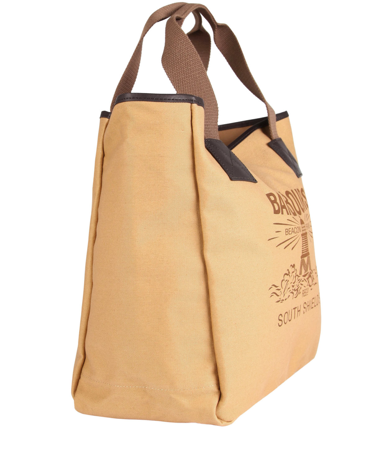 Stoere Canvas Tassen : Barbour beige beacon canvas per bag in natural for men