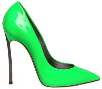 Casadei 120mm Patent Pointy Pumps - Lyst