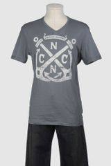 C'n'c' Costume National Short Sleeve Tshirt - Lyst