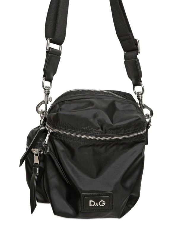 ... Lyst - Dolce Gabbana Nylon Small Shoulder Bag in Black for save off  3f992 8e281  Stussy. Mens Black Ripstop Nylon Waist ... 0588dbf738