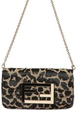 Fendi Mia Jacquard Shoulder Bag - Lyst