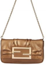 Fendi Mia Logo Shoulder Bag - Lyst
