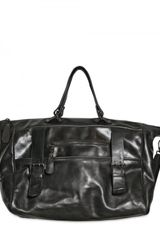 Giorgio Brato Horse Leather Weekender Bag - Lyst