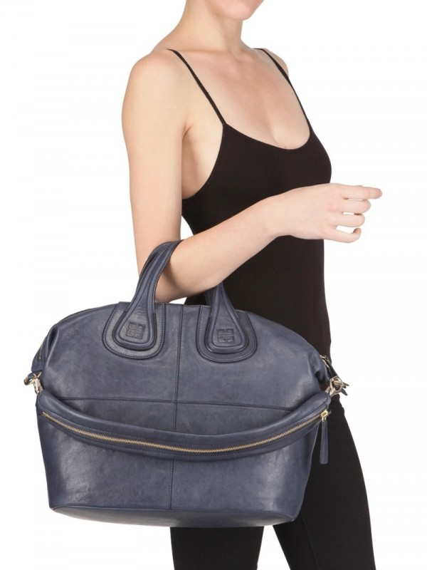 1fdb9b9539 Lyst - Givenchy Nightingale Medium Shoulder Bag in Blue