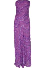 Missoni Heloise Sequined Crochet-Knit Gown - Lyst