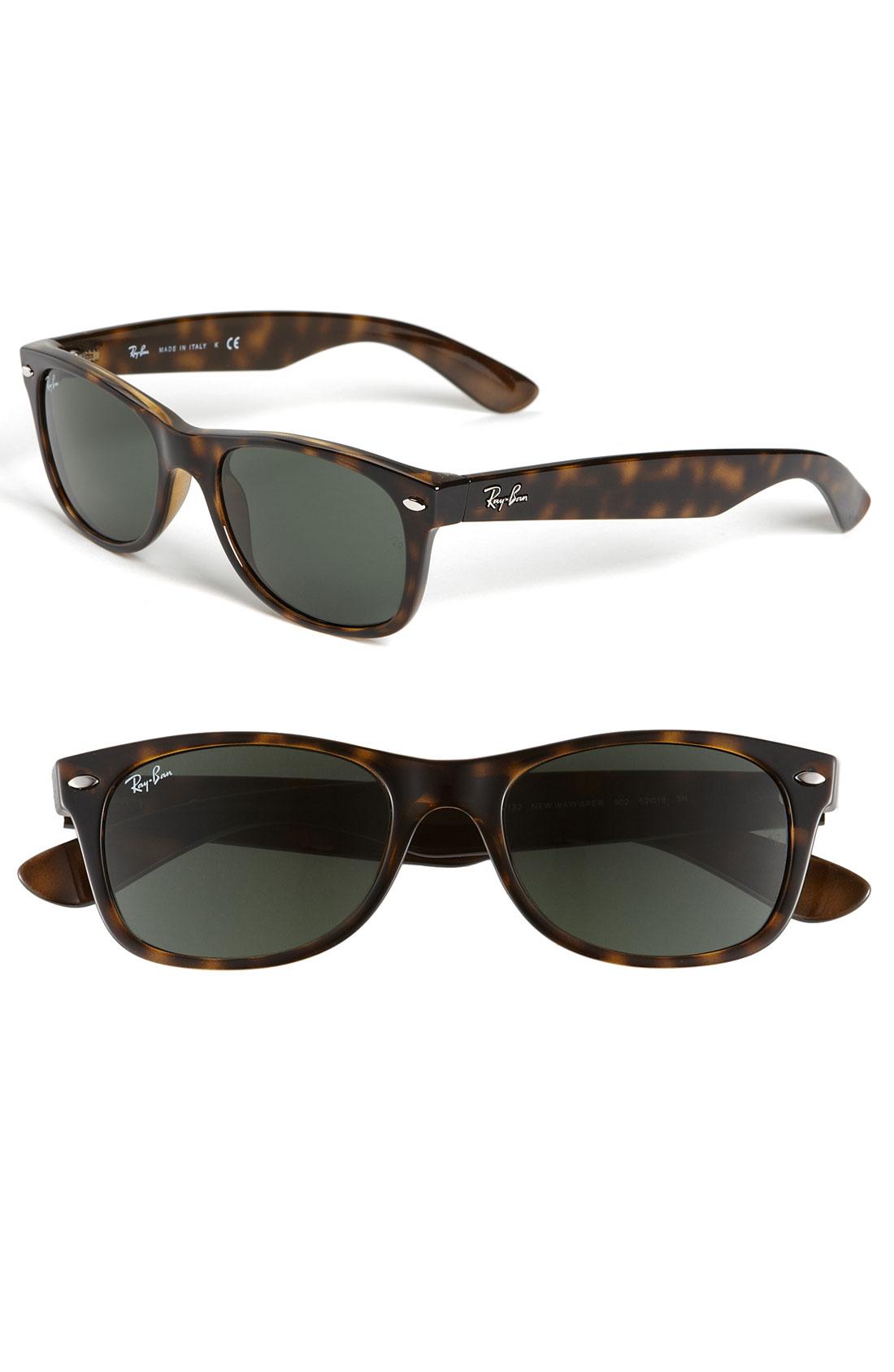 Ray-ban 'New Small Wayfarer' 52Mm Sunglasses - Dark