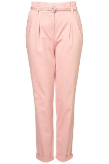 Topshop High Waisted Chinos - Lyst