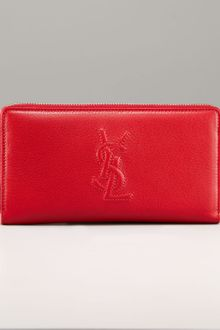 Yves Saint Laurent Continental Zip Top Wallet - Lyst