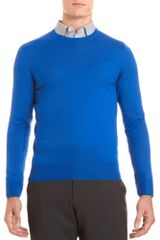 Yves Saint Laurent Crewneck Sweater - Lyst