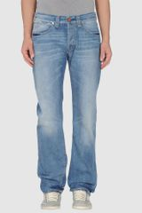 Seal Kay Denim Trousers - Lyst