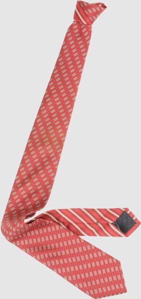 Versace Ties in Red for Men (lead) - Lyst