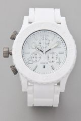 Nixon The Rubber 42-20 Chrono Watch - Lyst